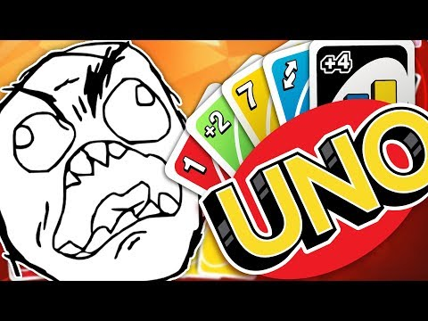 THE ULTIMATE RAGE GAME - UNO