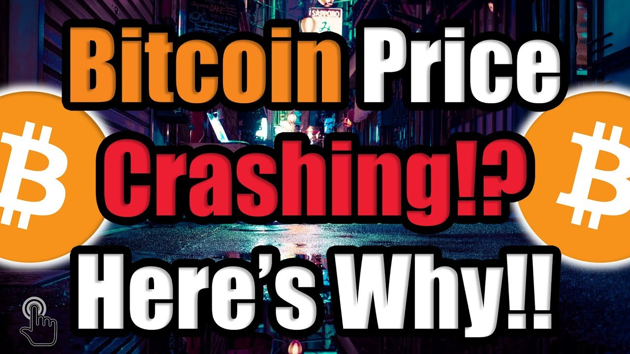 The Bitcoin (BTC) Price is Crashing -- HERE'S WHY?! [Cryptocurrency News]