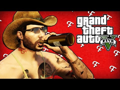 GTA 5: Kamikaze Pilot, Boat On A Boat Challenge, Bar Fight! (Online - Comedy Gaming)