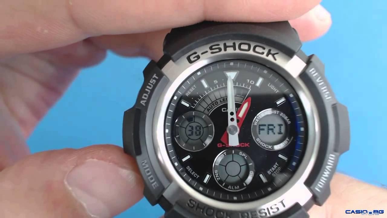 a0233e89d20e Casio G-Shock AW-590-1AER - YouTube