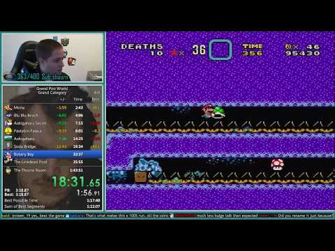 Grand Poo World Grand Category Speedrun 1:28:08 *World Record*