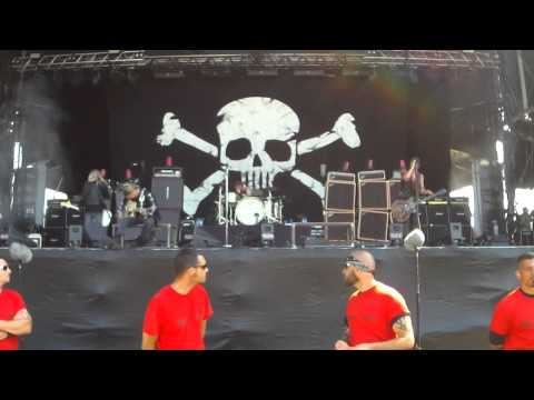 Backyard Babies - Hellfest 2015 à Clisson
