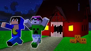 Minecraft: CASA MONSTRO DO PAC E MIKE!