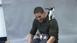 Theo Rossi Talks About How Important It Is To Adopt!