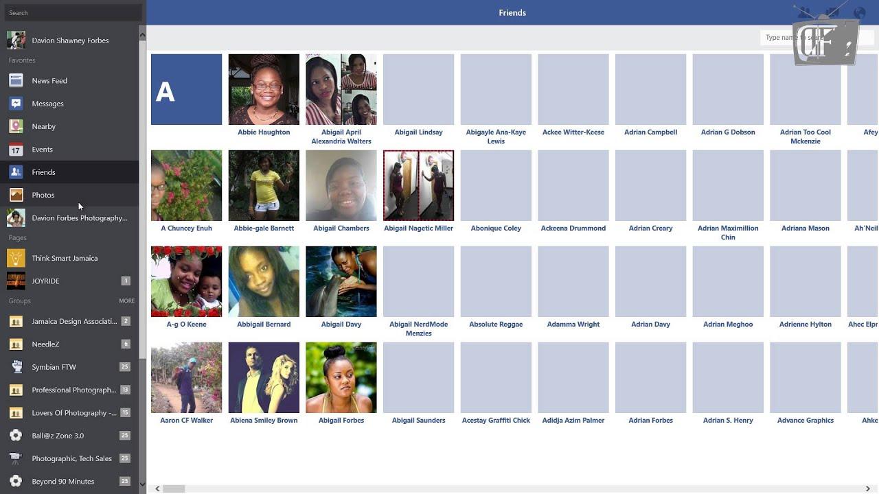 Facebook For Windows 8 1 App Review  Df