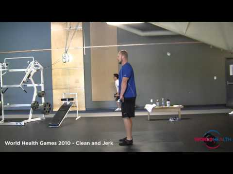 How To Clean And Jerk - Calgary Gyms Demo