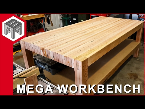Mega Workbench How To Make A Woodworking Bench Youtube