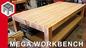 Mega Workbench - How to Make a Woodworking Bench