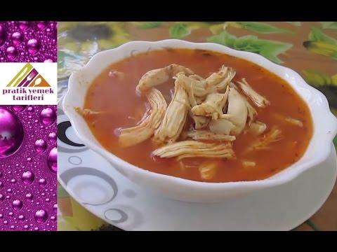 Pratik tavuk çorbası tarifi