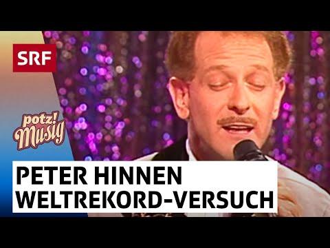 Weltrekord-Versuch von Peter Hinnen - Archiv - Potzmusig Stammtisch vom 15.7.2017