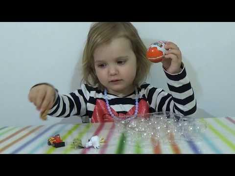 Яйца с сюрпризом обзор игрушек