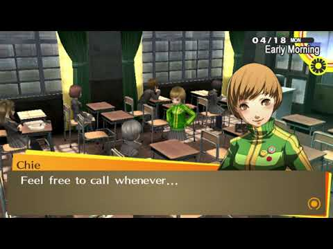 Persona 4 Golden: Asking Chie & Yukiko Straight Out