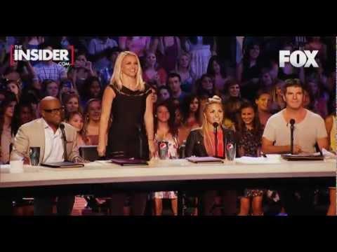 Britney Spears Dances to Vanilla Ice Ice Ice Ba X Factor Usa HD