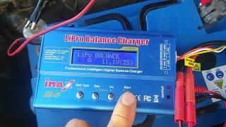 Як заряджати LiPo акумулятор кораблика для риболовлі Camarad speed