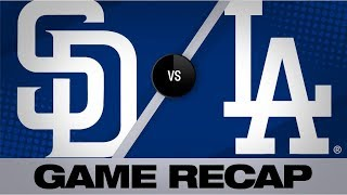Smith's grand slam propels Dodgers past Padres | Padres-Dodgers Game Highlights 8/1/19