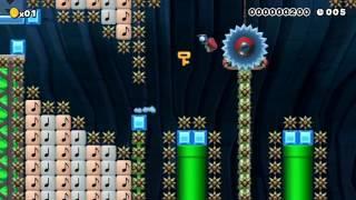 【マリオメーカー】Short SpeedRun 月を見るために走れ!  【新月】【Super Mario Maker】