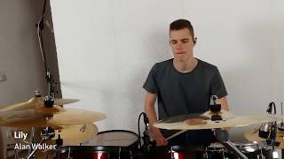 Gambar cover Lily - Alan Walker (drum cover by Drumm3rmatic)