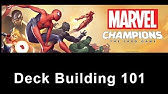 Marvel Champions Lcg Deck Build Black Panther Leadership Youtube