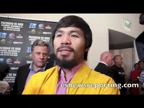 Manny Pacquiao On Mayweather Vs Canelo