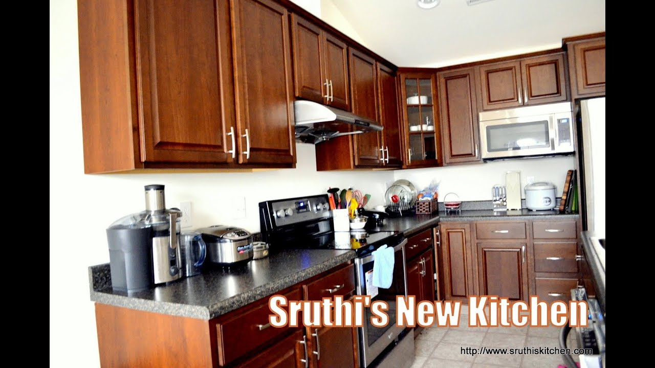Sruthi\'s New Kitchen! - YouTube