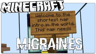 Minecraft | MIGRAINES | Reach The Teleporter (Minecraft Custom Puzzle Map)