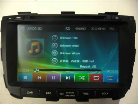 Auto Dvd System For Kia Sorento 2013 2014 2015 Car Gps