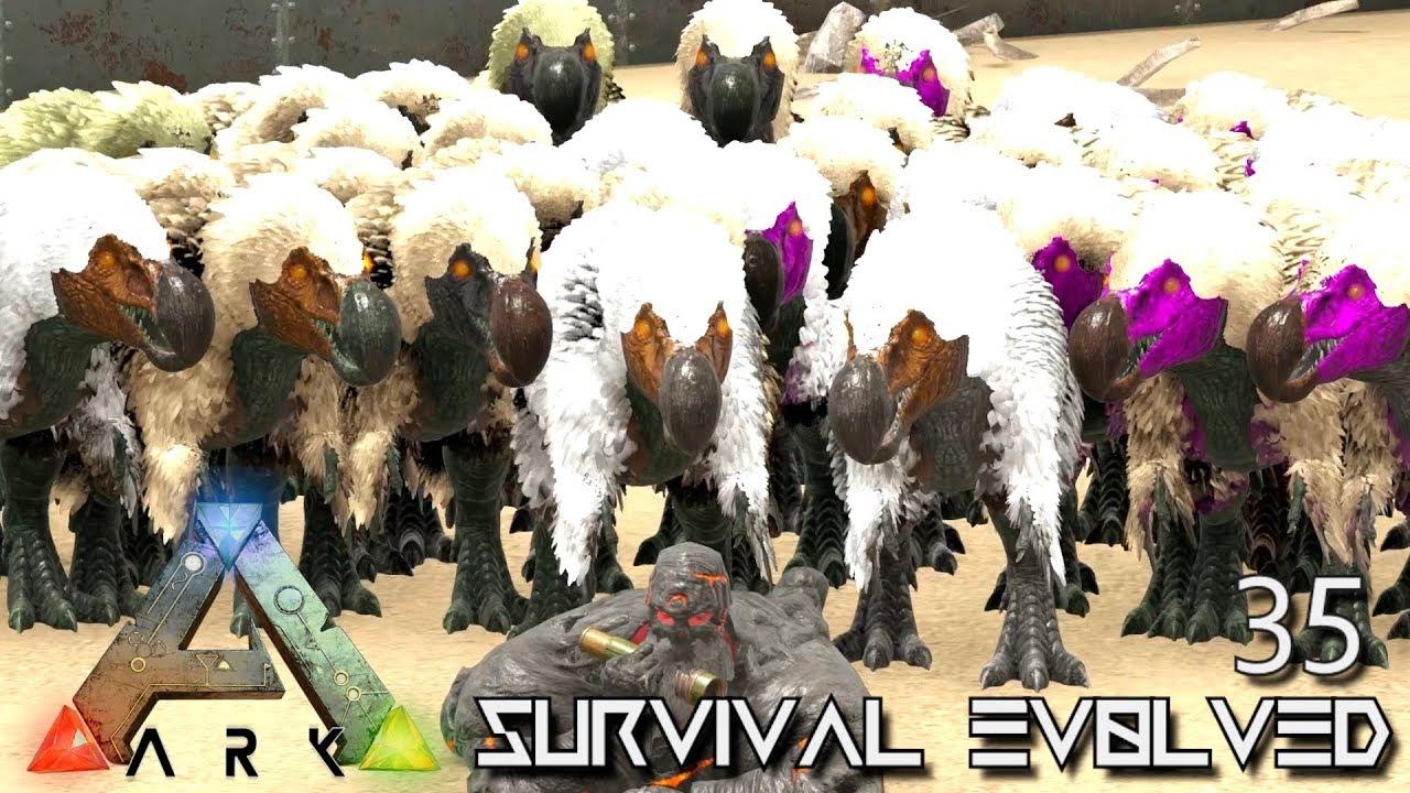 ARK: SURVIVAL EVOLVED - DODOREX BABY HORDE !!! E35 (MODDED