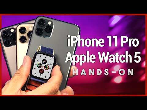 IPhone 11 Pro & Apple Watch Series 5 First Look & Unboxing