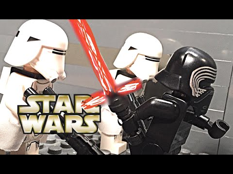 LEGO Star Wars The Force Awakens Battle on Starkiller Base - 2 ...