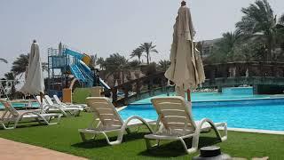 Египет горки и бассейн отеля Queen Sharm Resort Egypt Beach Hotel Queen Sharm Resort