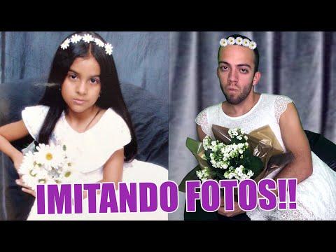 IMITANDO FOTOS DO ÁLBUM DA DANI!!