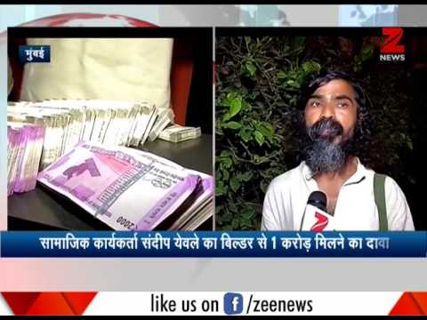 Mumbai : RTI activist shows Rs 40 lakh bribe given to him by builder; builder denies allegation