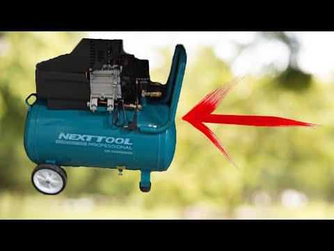 Невероятные трюки с обычным компрессором!!!