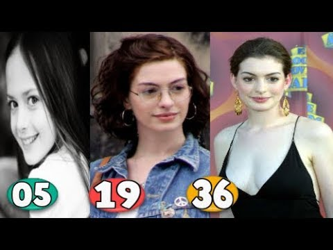 Download Anne Hathaway ♕ Transformation From 05 To 36 Years OLD