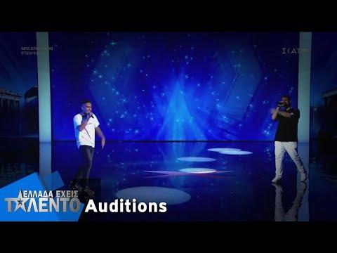 Ελλάδα Έχεις Ταλέντο - Season 2 | Michailidis x Vag | 01/10/2018