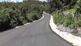 Asfalto de San Martin a Joyabaj