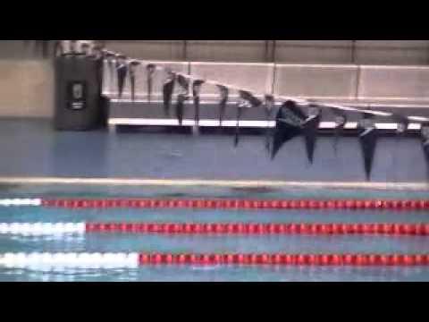 Charlotte Evans - 200m Fly - BUCS SC 2011 - Last 50 (15m attempt)