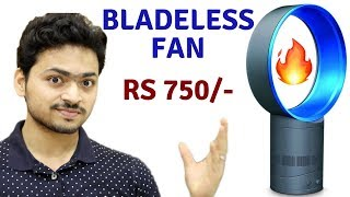 Cheap Bladeless Fan | Unboxing & Review | Tech Unboxing 🔥