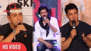 Salman Khan Vs Shahrukh khan Vs Aamir khan  3 Khans Together  Amar Akbar Anthony - 2