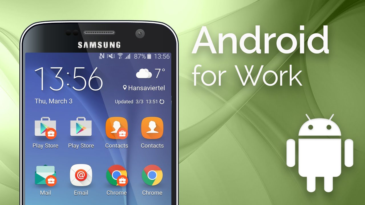 What is Android For Work? - YouTube