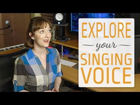 Explore your unique singing voice - find your singing voice type