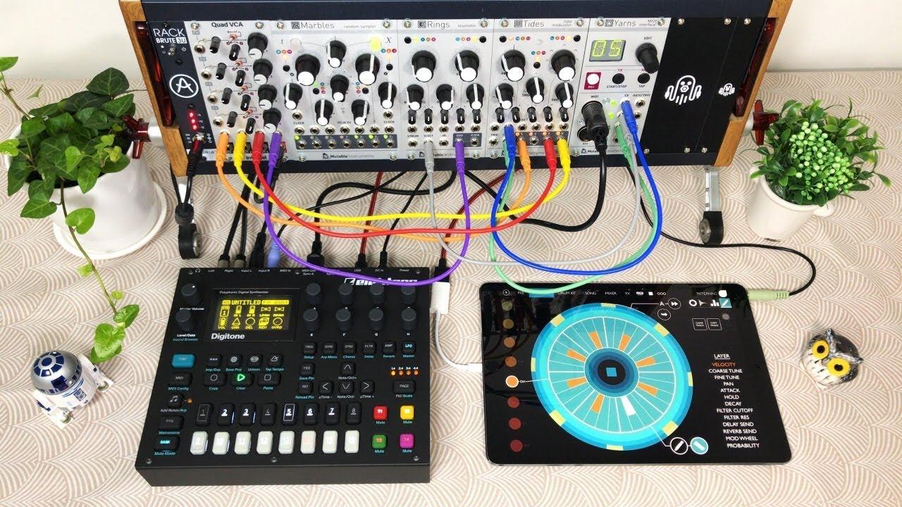 blooper 39 s delight 04 eurorack modular synthesizer digitone ipad minimal techno youtube. Black Bedroom Furniture Sets. Home Design Ideas