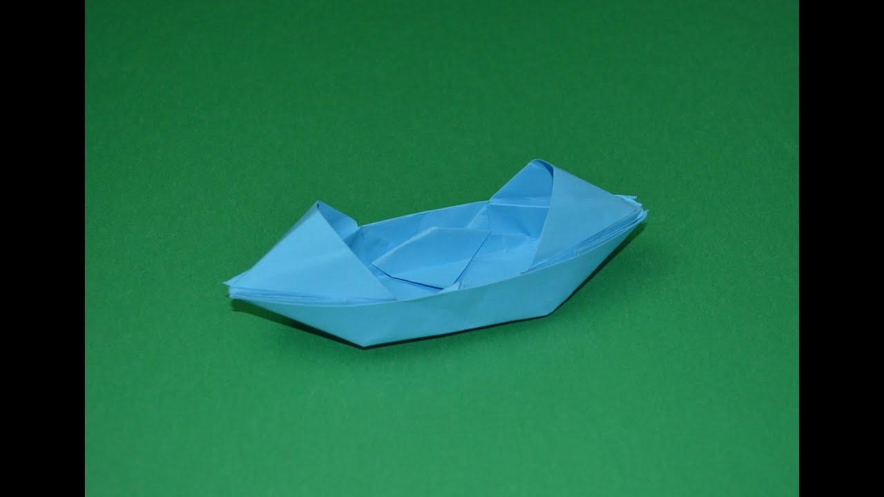 Como hacer un barco de papel origami youtube - Como hacer un estor enrollable paso a paso ...