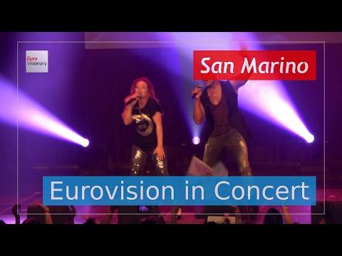 Valentina Monetta and Jimmie Wilson - Spirit of the Night - San Marino (Live in 4K!) EiC 2017