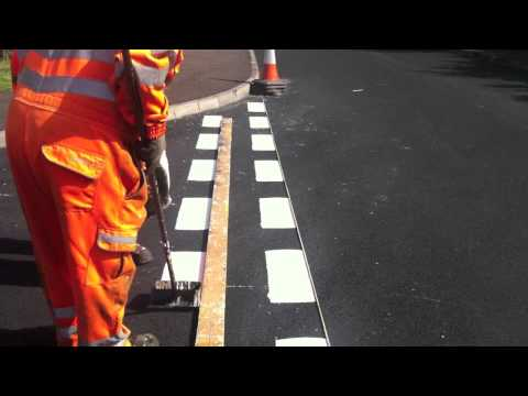 Road Safety Contracts, Screed Road Marking