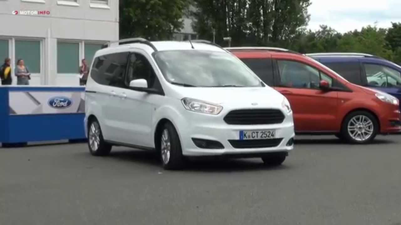 ford tourneo courier youtube. Black Bedroom Furniture Sets. Home Design Ideas