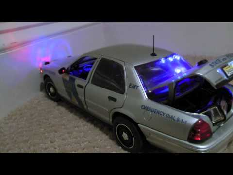1/18 Scale Police Cars For Sale: My Collection. 1080p Full HD