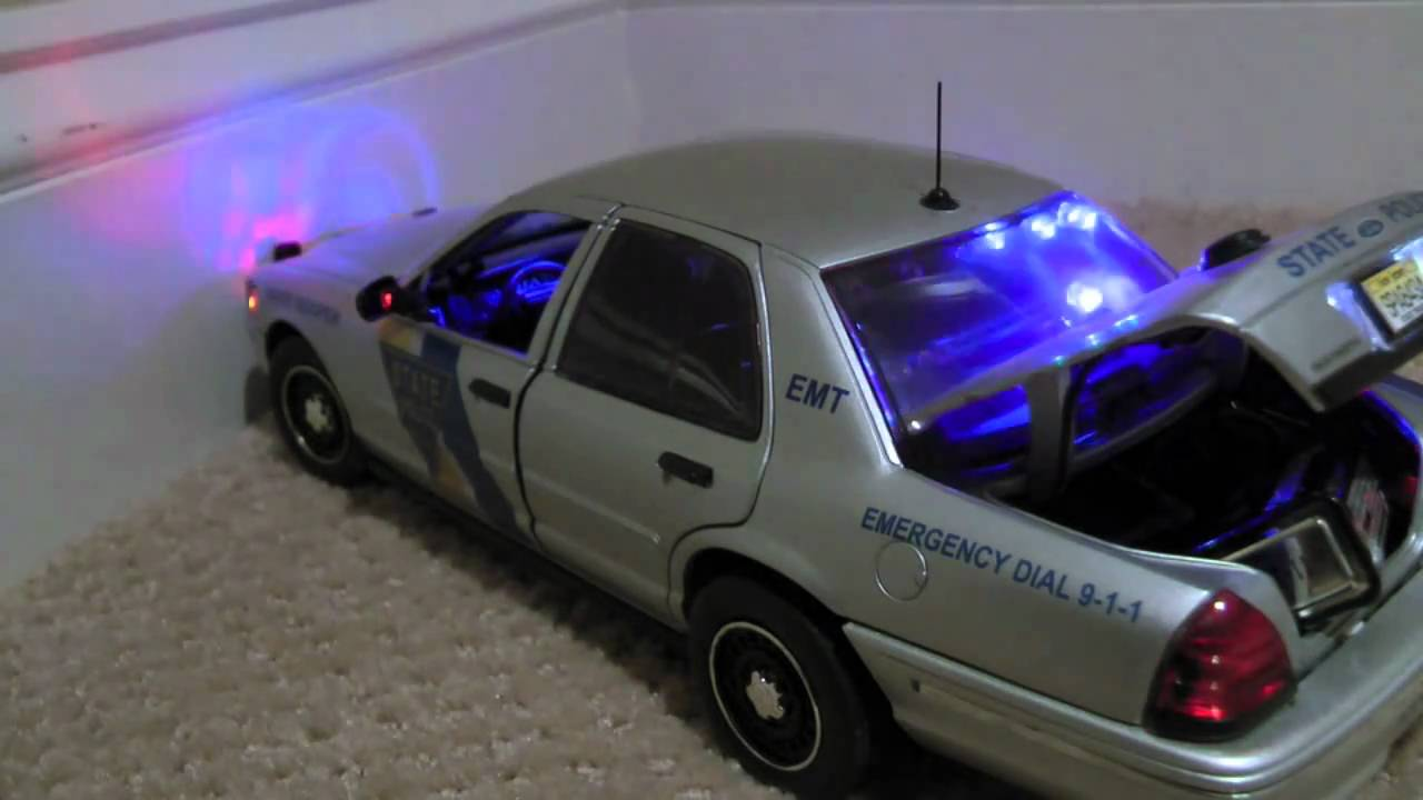 18 Scale Police Cars For Sale: My Collection.... 1080p Full HD ...