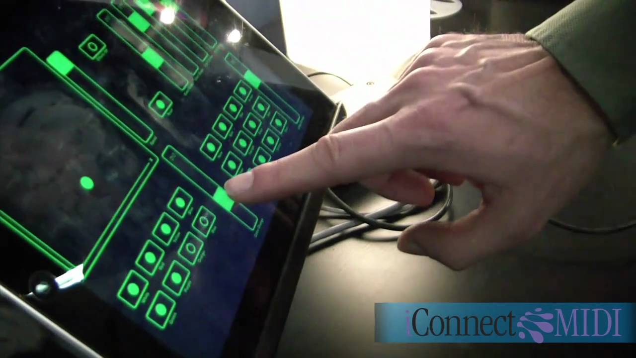 control lighting with ipad. NAMM 2011 - Control DMX Lights With IConnectMIDI For DJ\u0027s And Lighting Guys YouTube Ipad I