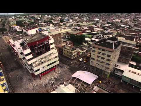 Exclusive drone images of destruction in Portoviejo, Ecuador